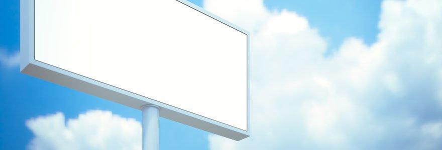 panneau d'affichage extérieur LED